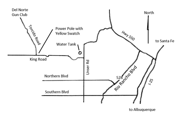 Image of del norte gun club map